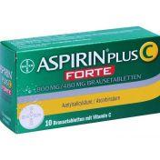Aspirin plus C forte 800mg/480 mg Brausetabletten