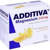 ADDITIVA Magnesium 375mg Granulat Orange
