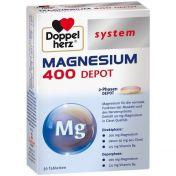 Doppelherz Magnesium 400 Depot system