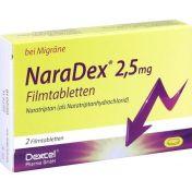 NaraDex 2.5 mg Filmtabletten