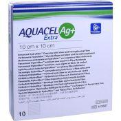 AQUACEL Ag+ Extra 10x10 cm Kompressen günstig im Preisvergleich