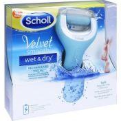Scholl Velvet Smooth Pedi Wet&Dry Gerät