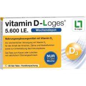 vitamin D-Loges 5.600 I.E. Familienpackung