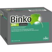 Binko 240 mg Filmtabletten günstig im Preisvergleich