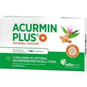 ACURMINPlus - Das Mizell-Curcuma. Weichkapseln