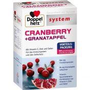 Doppelherz Cranberry + Granatapfel system günstig im Preisvergleich
