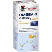Doppelherz Omega-3 Family Flüssig system günstig im Preisvergleich