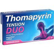 Thomapyrin TENSION DUO 400 mg/100mg Filmtabletten
