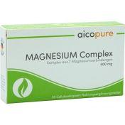 MAGNESIUM Complex 400 mg Kapseln günstig im Preisvergleich