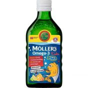 Möllers Omega-3 Kinder natürl. Fruchtgeschmack günstig im Preisvergleich