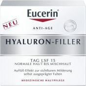 EUCERIN Anti-Age HYALURON-FILLER Tag nor+Mischhaut günstig im Preisvergleich