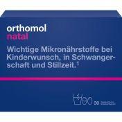 Orthomol Natal Granulat/Kapseln 30Beutel