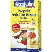 zirkulin Propolis Hals- und Husten Pastillen Kids