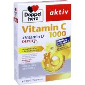 Doppelherz aktiv Vitamin C 1000 + Vitamin D Depot günstig im Preisvergleich