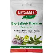 MEGAMAX Bio Salbei-Thymian Bonbon