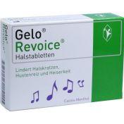 GeloRevoice Halstabletten Cassis-Menthol