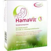 HamaVit 1 Kinderwunsch und Schwangerschaft