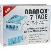 ANABOX Compact 7 Tage Wochendosierer blau/weiß günstig im Preisvergleich