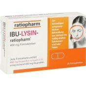 IBU-LYSIN-ratiopharm 400 mg Filmtabletten günstig im Preisvergleich