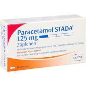Paracetamol STADA 125mg Zäpfchen