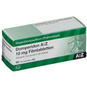 Domperidon AbZ 10mg Filmtabletten günstig im Preisvergleich