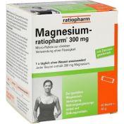 Magnesium-ratiopharm 300mg Micro-Pellets m Gran. günstig im Preisvergleich