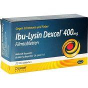 Ibu-Lysin Dexcel 400 mg Filmtabletten