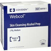 Alkoholtupfer WEBCOL ST 3.5X3.5