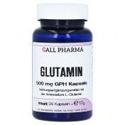 Glutamin 500 mg GPH Kapseln günstig im Preisvergleich