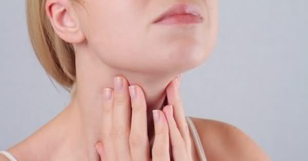 Dicker lymphknoten am hals einseitig