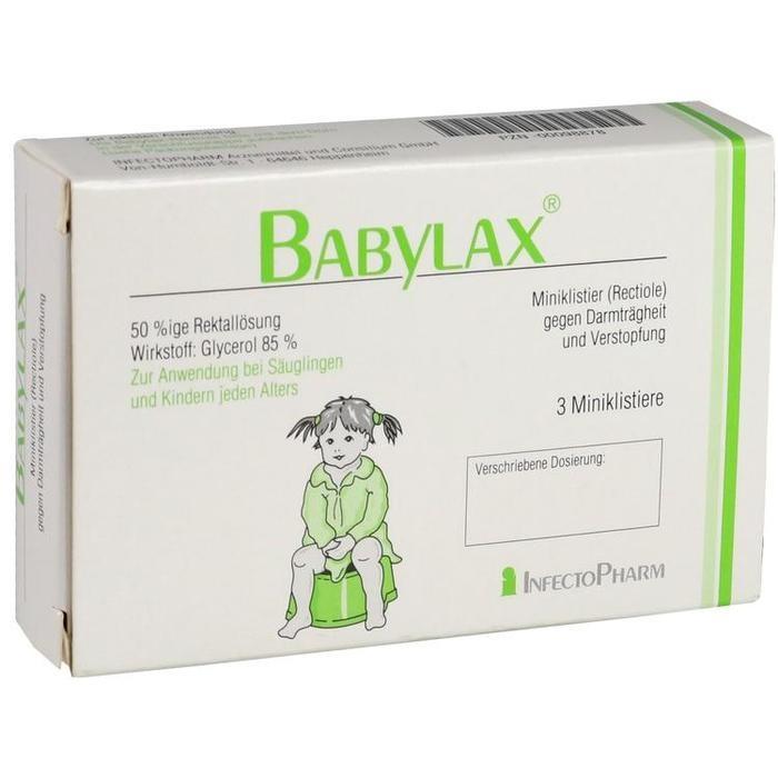 Babylax 3 St Infectopharm Arznuconsilium Gmbh Apothekenvergleich