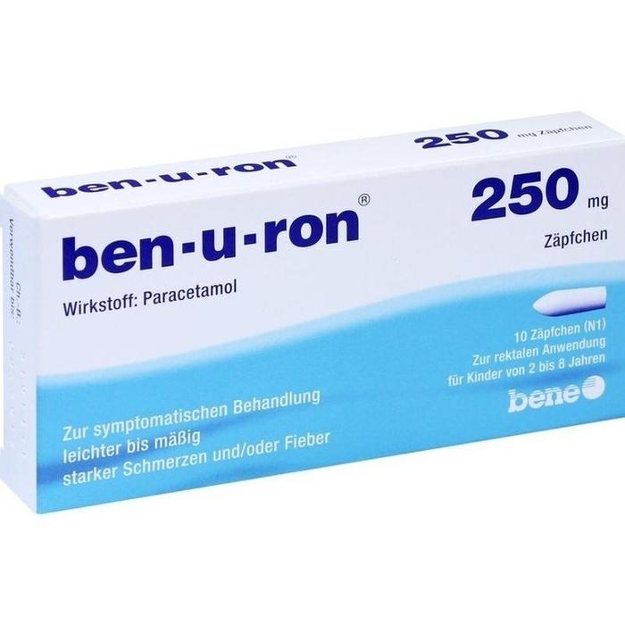 ben-u-ron 250 mg Zäpfchen