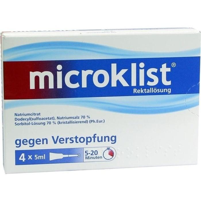 Microklist Schwangerschaft