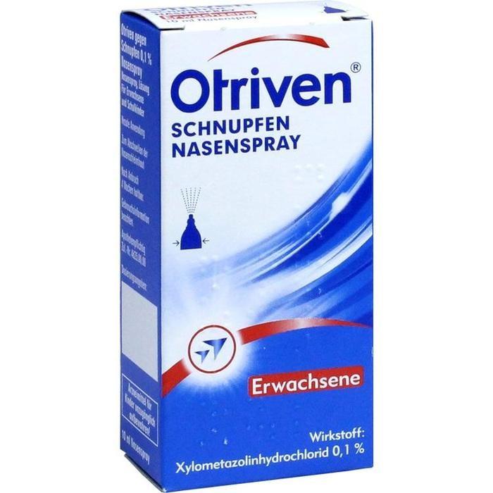 Otriven gegen Schnupfen 0,1% Nasenspray