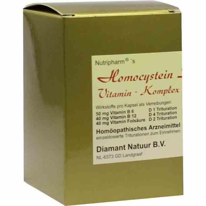 Homocystein Stoffwechsel Vitaminkomplex 60ST günstig..