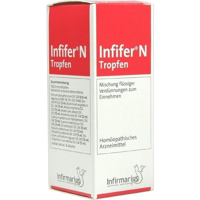 infifer n tropfen 100 ml infirmarius gmbh pzn 4386290. Black Bedroom Furniture Sets. Home Design Ideas