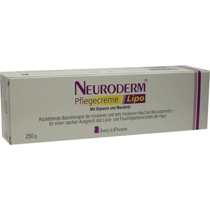 neuroderm pflegecreme lipo 250 g apothekenvergleich. Black Bedroom Furniture Sets. Home Design Ideas