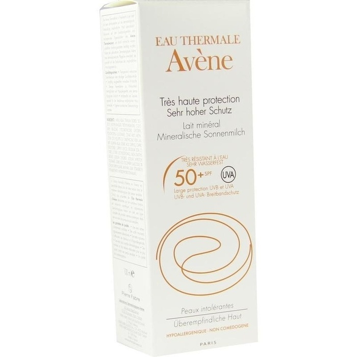 avene mineralische sonnenmilch spf 50 2010 100 ml apothekenvergleich. Black Bedroom Furniture Sets. Home Design Ideas