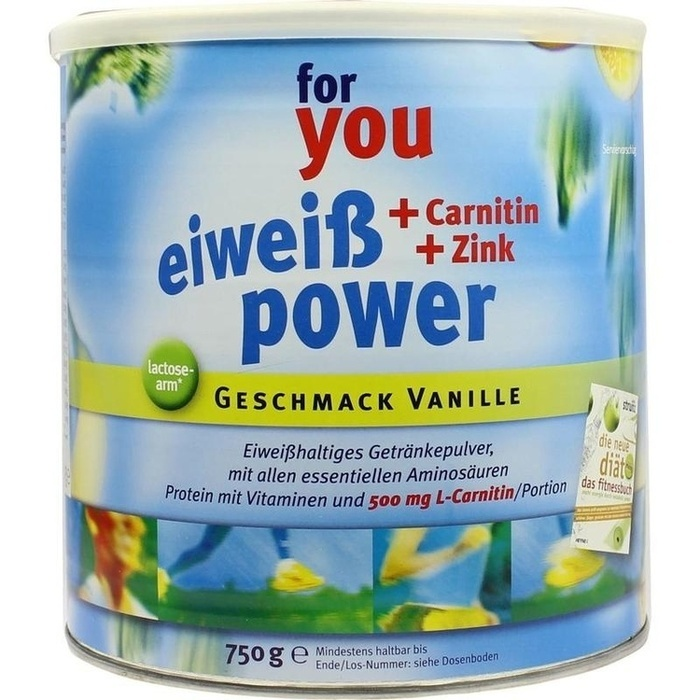 For You eHealth GmbH For you Eiweiß Power Vanille