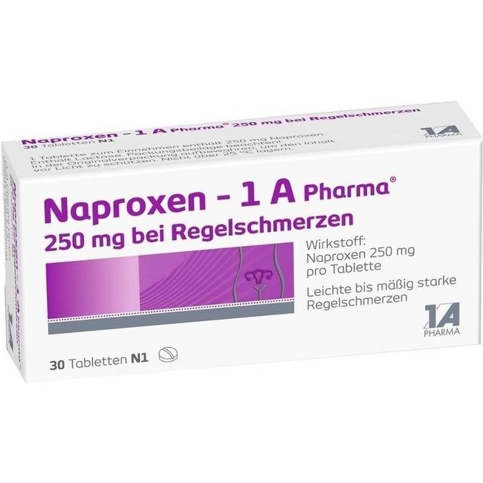 Naproxen Schmerztabletten bei Regelschmerzen (30 Stück)