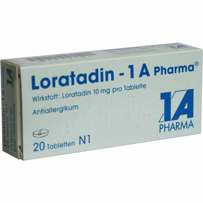 Loratadin - 1A Pharma Tabletten