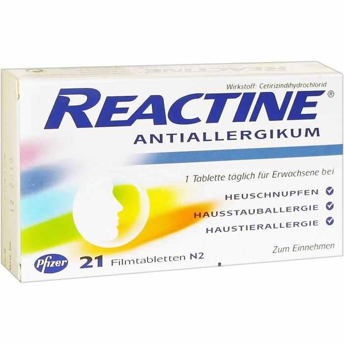 Reactine 10 mg