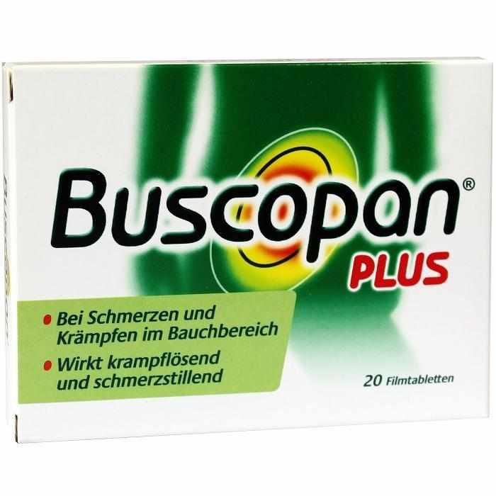 Buscopan plus 10 mg/500 mg