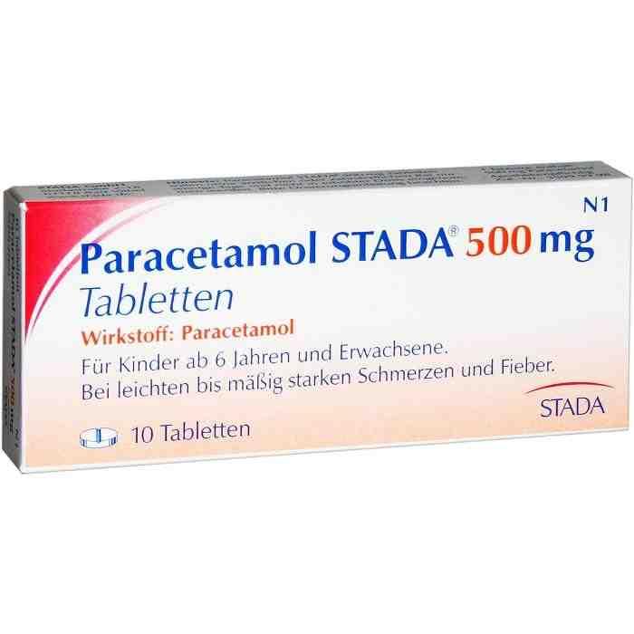 Paracetamol STADA® 500mg Tabletten