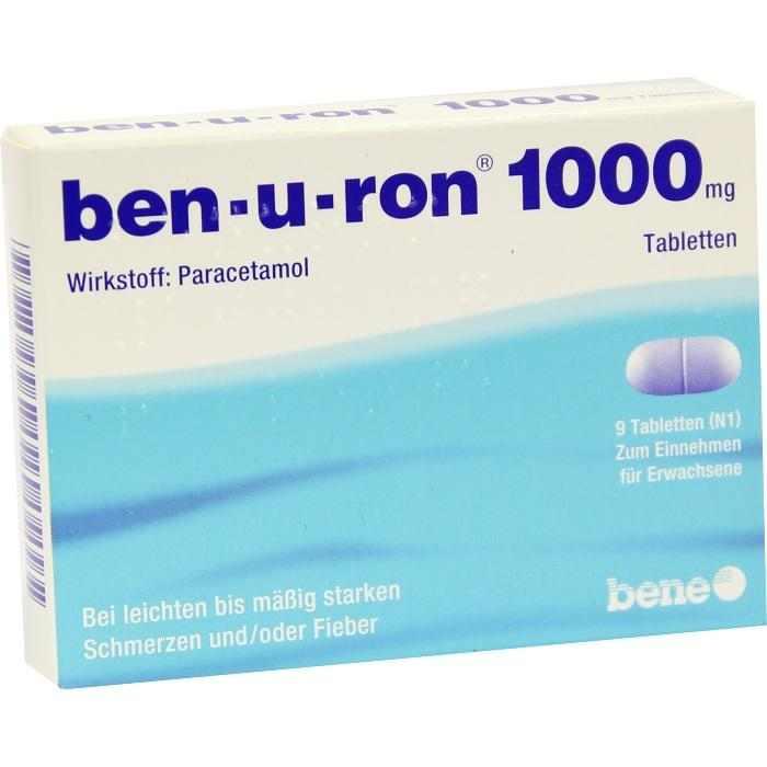 ben-u-ron 1000 mg Tabletten, Für Erwachsene