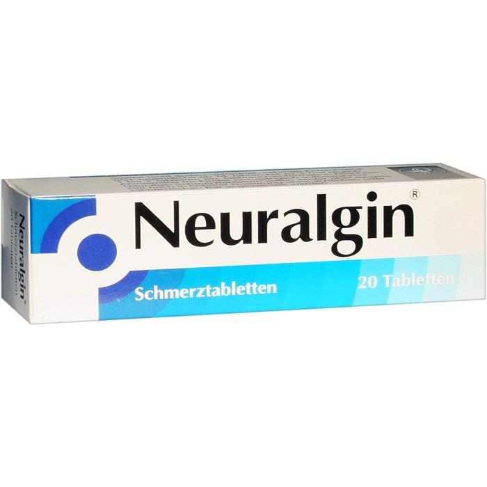 Neuralgin® Schmerztabletten 250 mg/200 mg/50 mg