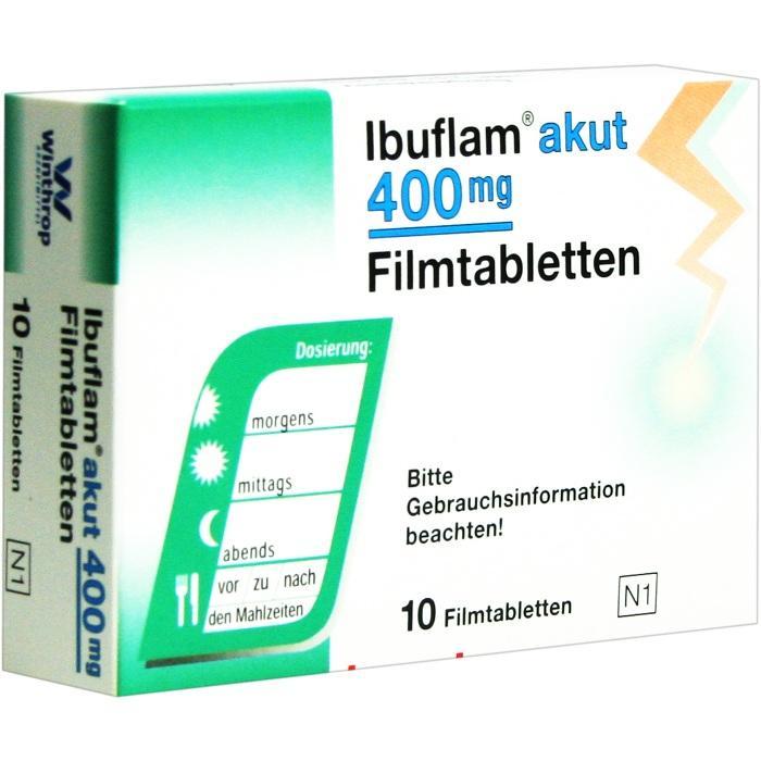 Ibuflam® akut 400mg Filmtabletten