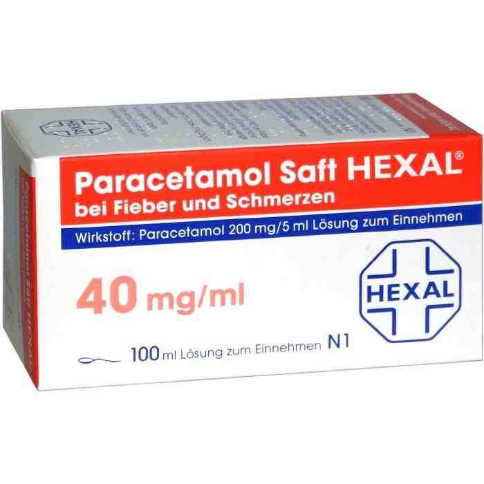 Paracetamol Saft HEXAL® 200 mg/5 ml