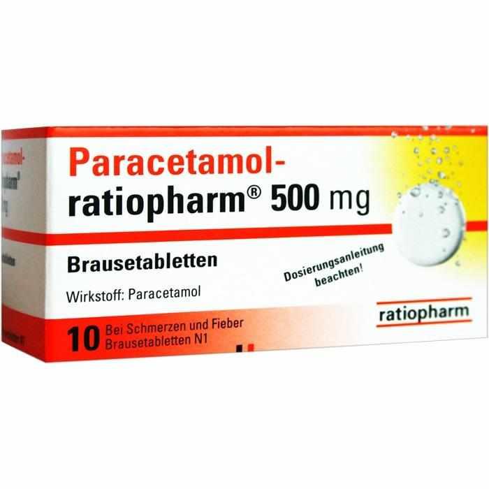 Paracetamol-ratiopharm® 500 mg Brausetabletten